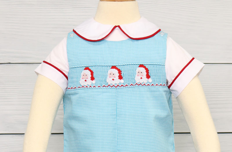 Christmas Jon Jon,  Baby Boy Christmas Outfit 412874 - DD248 - product images  of