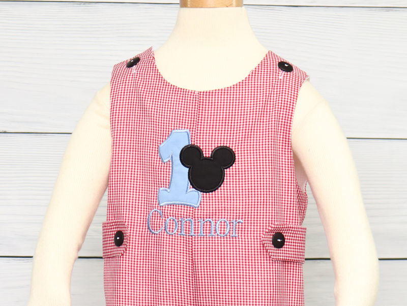 Mickey Mouse 1st Birthday Outfit, 1st Birthday Outfit Boy 293169 - product images  of