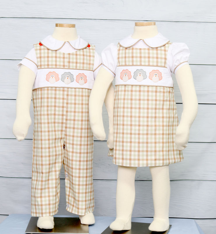 Matching Thanksgiving Outfits for Brother and Sister, Baby Boy Thanksgiving Outfit 294034 - product images  of