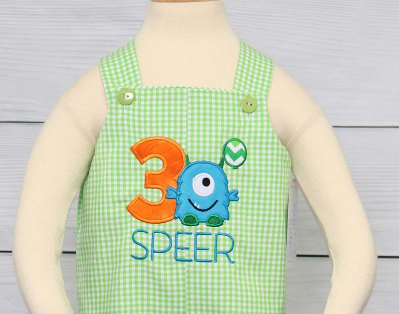 Monster Frist Birthday Outfit, Monster 1st Birthday Outfit 293051 - product images  of