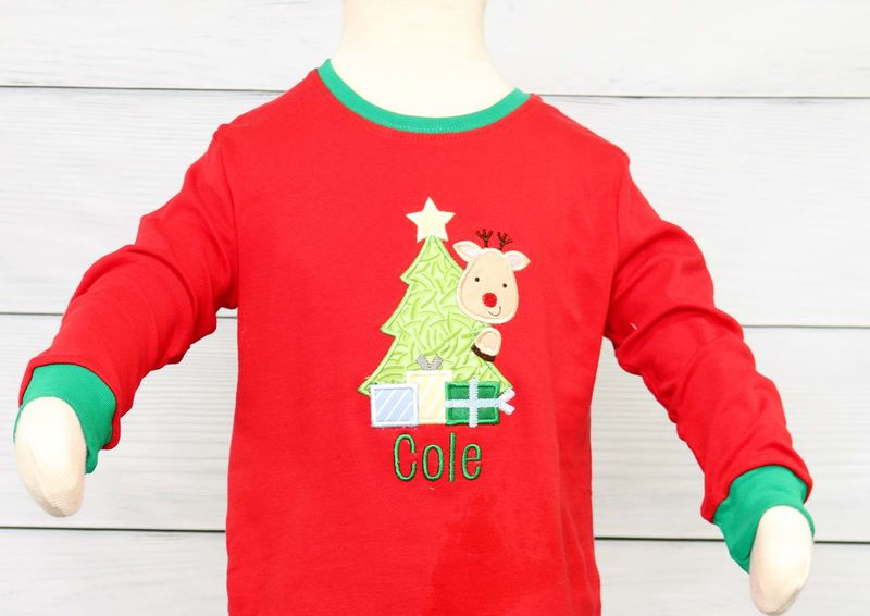 Baby Boy Pajamas, Kids Christmas Pajamas, Baby Christmas Pajamas 292644 - product images  of