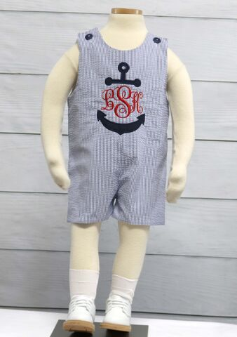 Baby,Shortalls,,Boy,Rompers,,Zuli,Kids,Clothing,292465,Shortalls, Jon Jons, Baby Boy Jumpsuit, Boys Beach Outfit - Baby Clothes - Nautical Baby Boy Rompers - White Beach Portrait