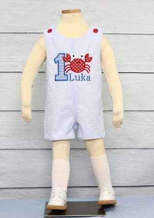 Baby Boy 1st Birthday Outfit, Baby Boy First Birthday Outfit, Zuli Kids 292958 - product images  of