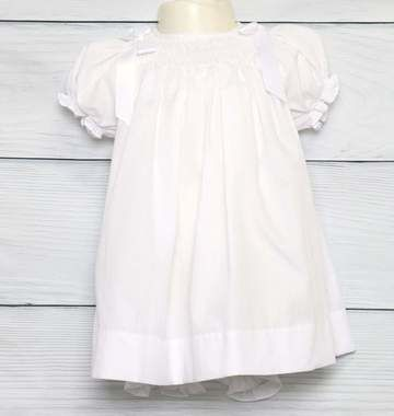 Toddler,White,Dress,|,Baptism,Dresses,Baby,412499-BB069,Clothing,Children,Baby_Girl_Clothes,Easter_Dresses,Baby_Girl_Easter,Easter_Outfits,Infant_Easter_Dress,Easter_Outfit,Smocked_Dresses,Newborn_Girl_Easter,Baby_Easter_Dress,Baby_Easter,Smock_Dress,Baby_Girl_Smocked,Smocked_Bishop,Poly Cotton Fabric