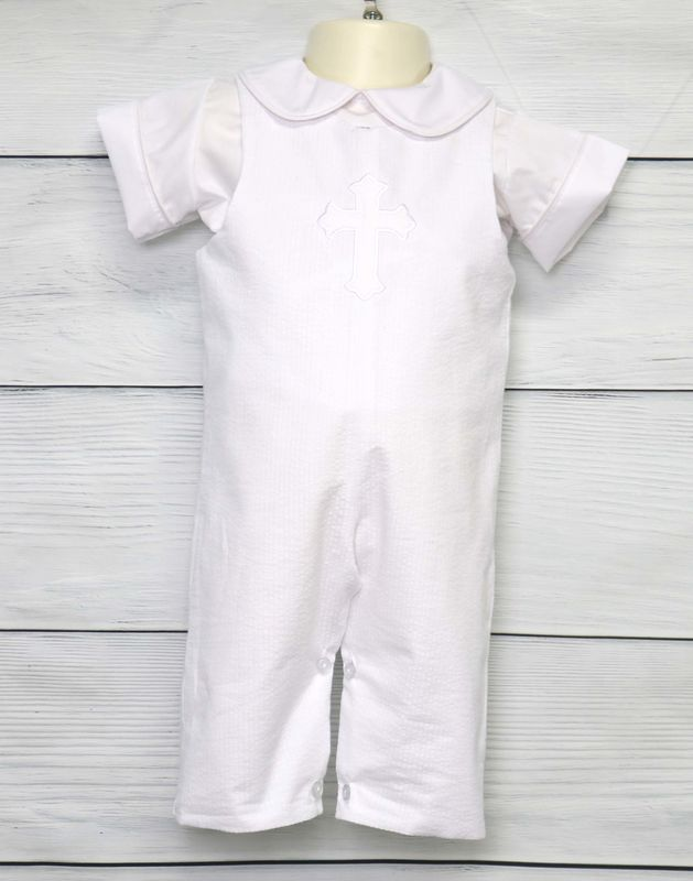 Baby Baptism Outfit, Baby Boy Christening Outfit, Zuli Kids 293391 - product images  of