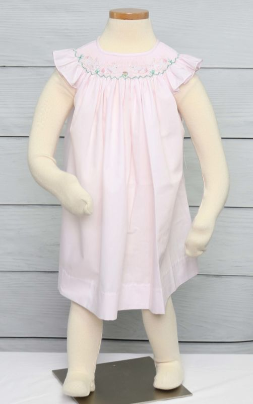 Easter Outfits Baby Girl, Easter Dresses for Toddlers, Zuli Kids 412893 -EE008 - product images  of