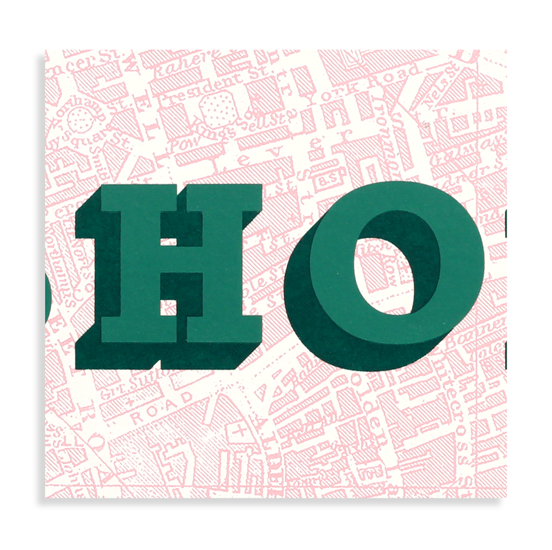 Shoreditch (Taupe Pink & Green) - product images  of