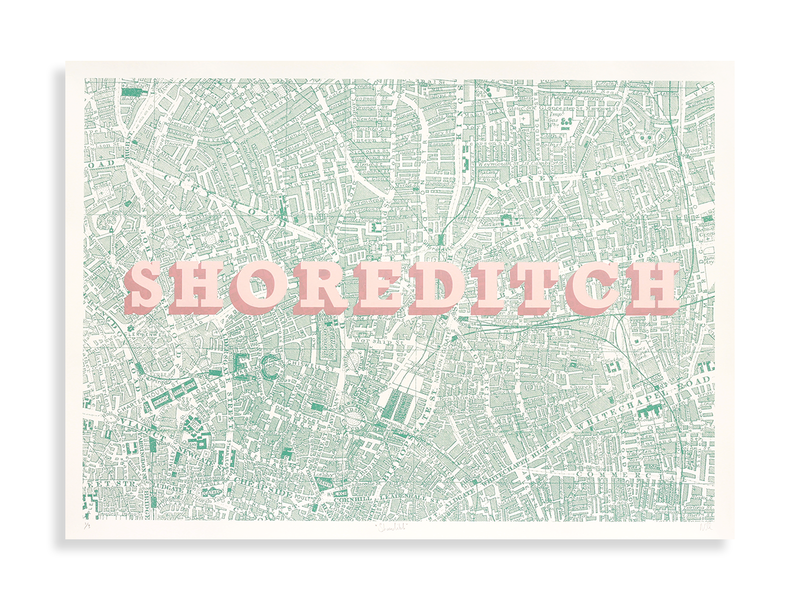 Shoreditch (Green & Pink) - product images  of