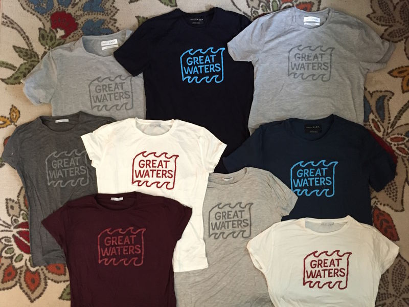 Great Waters T-shirts - product images