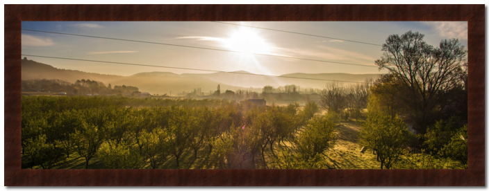 Sunrise in France - product image