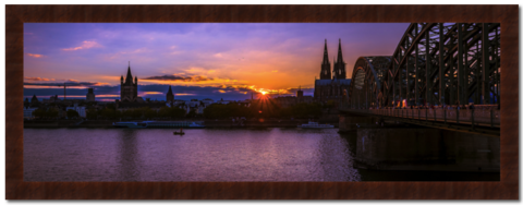 Evening,in,Cologne,Photography, Fotografie, Deutschland, High-Quality Paper, Art, Digital Art, Sonnenuntergang, sunset