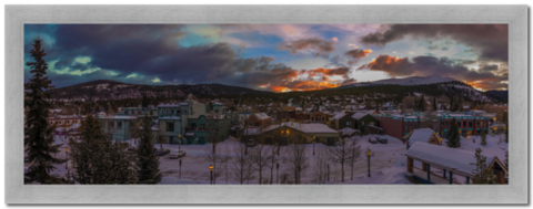 Sunrise,in,Breckenridge,Photography, Fotografie, Amerika, USA, High-Quality Paper, Art, Digital Art, Breckenridge, Sonnenaufgang, Sunrise