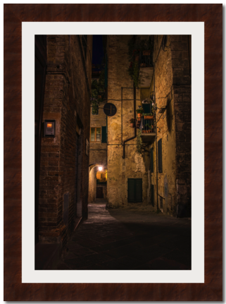 Old,town,Siena,Photography, Fotografie, Siena, Altstadt, High-Quality Paper, Art, Digital Art, Gasse