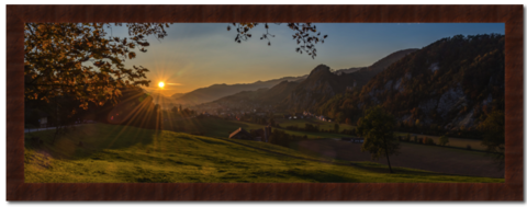 Im,Herbst...,Photography, Fotografie, Schweiz, Switzerland, High-Quality Paper, Art, Digital Art, Sonnenuntergang, sunset