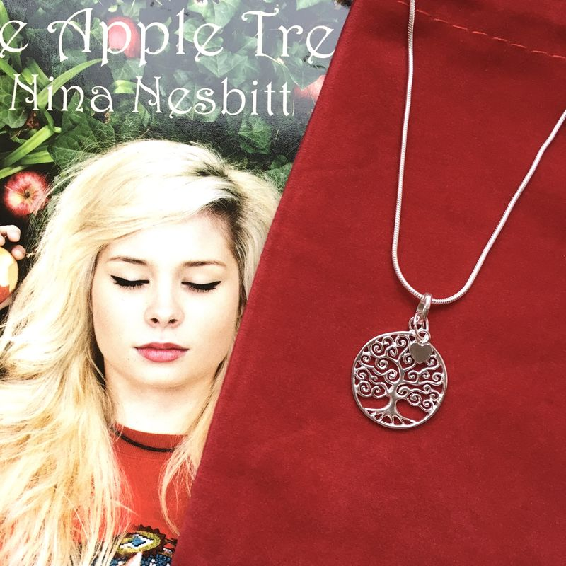 Sterling Silver Apple Tree Necklace - product image