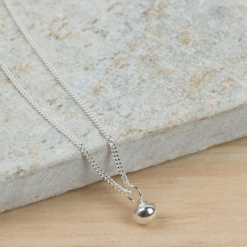 Recycled,Silver,Pendant,Jewellery, Necklace, recycled silver, eco silver, simple pendant