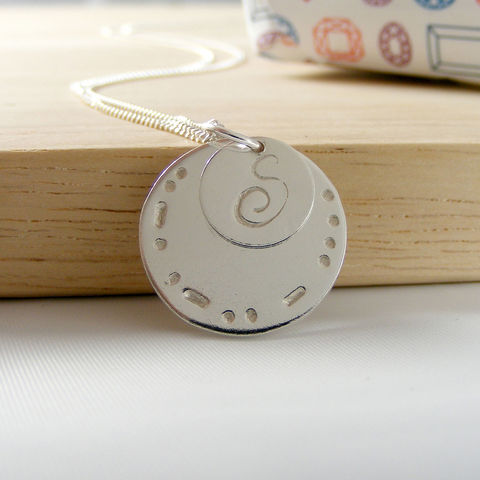 Personalised,Morse,Code,Silver,Initial,Necklace,Jewelry,Tanya_Garfield,UK_handmade,free_UK_delivery,dream,hope,faith,fun,joy,love,peace,smile,star,morse_code