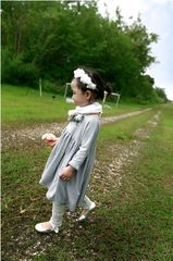 Courtly,Lauren,Dress-,Gray,Blue,ropa para niñas, vestido, vestido para niñas, ropa infantiles, the rabbit hat
