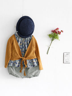 Lip Lap Cardigan - Mustard - product images  of