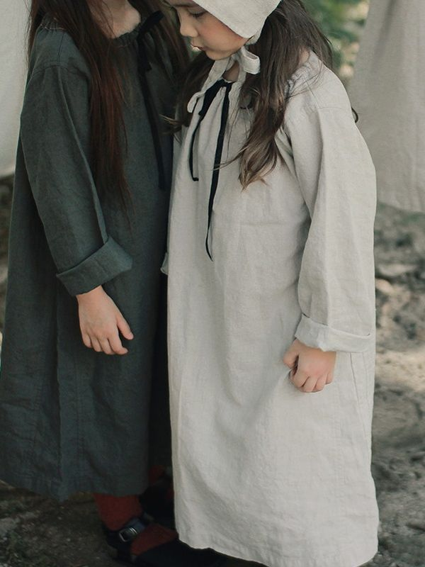 Linen Dress - Natural - product images  of