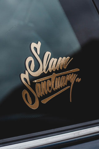 GOLD,FOIL,LOGO,STICKER