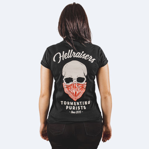 HELLRAISERS,WOMENS,T-SHIRT