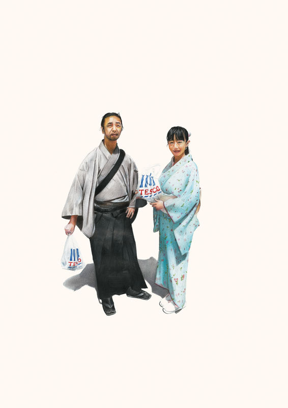 'Japanese Couple' - product images