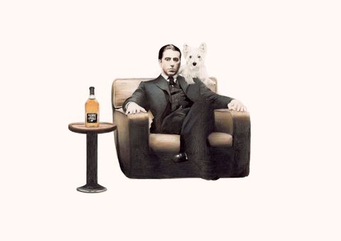 'The,Dogfather',print, artwork, godfather, drawing, dogfather