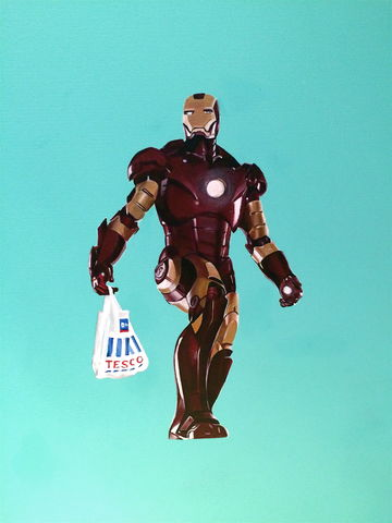 Ironman,Painting, art, artwork, ironman, superhero, marvel