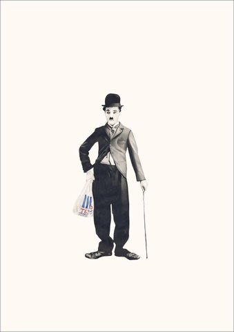 Charlie,Chaplin,Art, artwork, Charlie Chaplin, pop, affordable