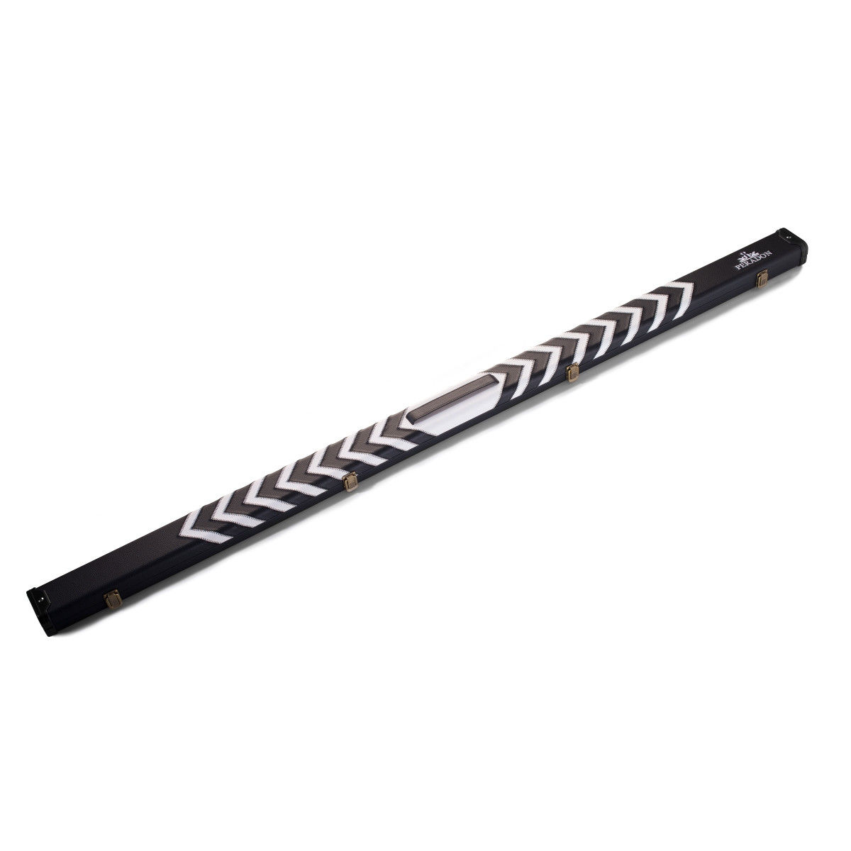 PERADON BLACK AND WHITE CLUBMAN CUE CASE - 1 PIECE CUES - product images  of
