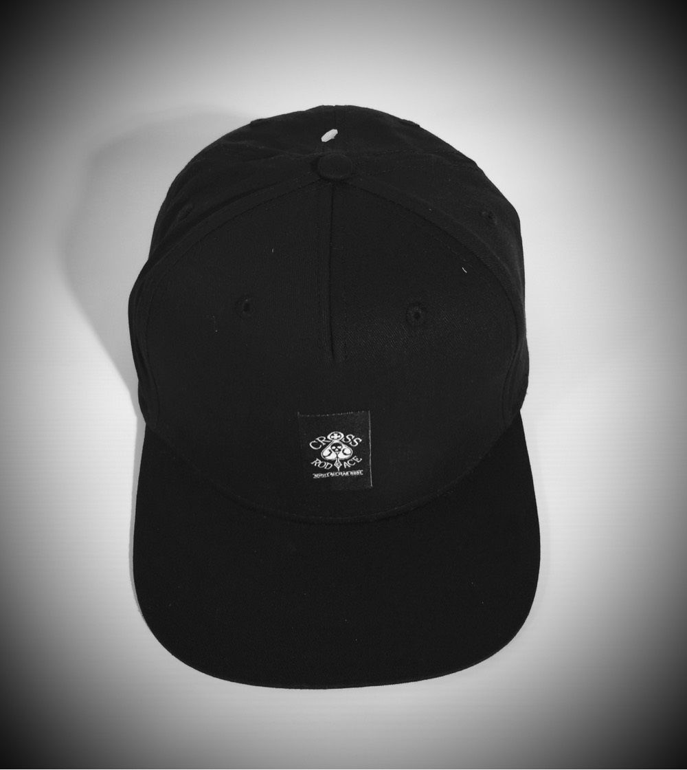 Black Snapback Trucker Panel Cap - product images  of