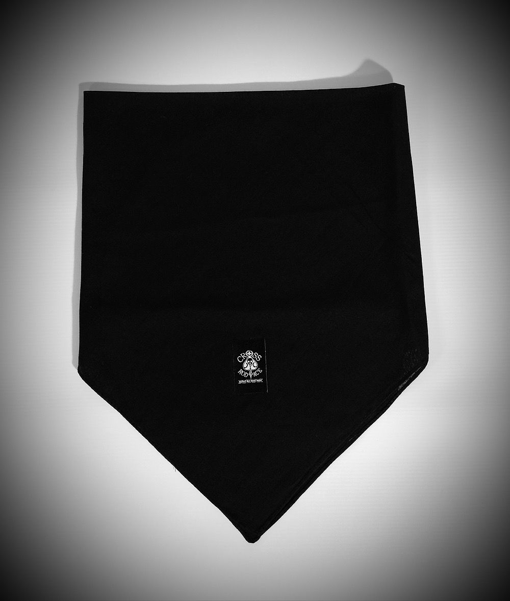 CrossRodAce Biker Bandana - Black - product images  of