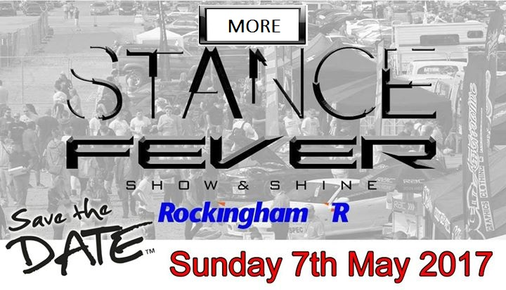 7th May 2017 Stance Fever Show - Rockingham