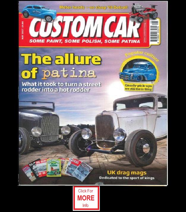 Hot Rod Classic Car Magazines Cross Rodace Hotrod And