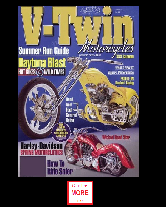 V-Twin Motocycles Magazine