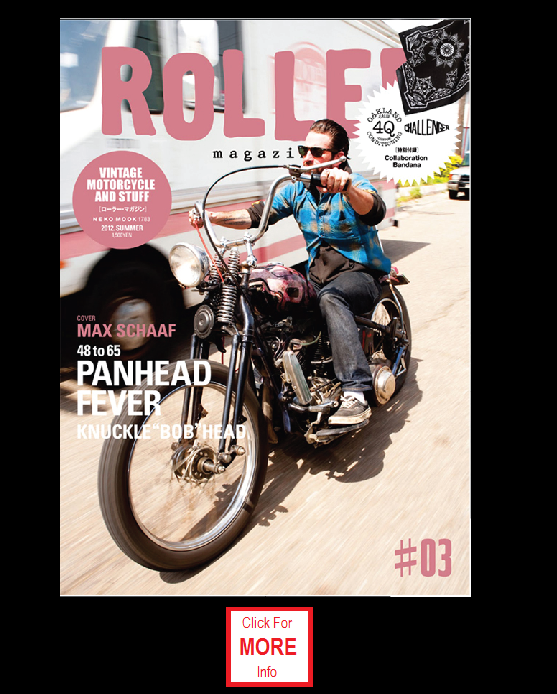 Roller Magazine - Vintage Motorcycle and Stuff