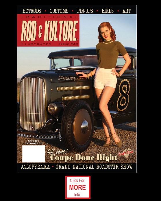 Rod & Kulture Magazine - Hotrods, Customs, Pinups, Bikes, Art...