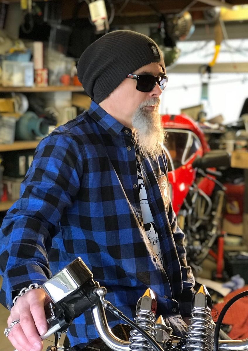 Lumberjack Brushed Flannel Check Shirt - Blue/Black - product images  of