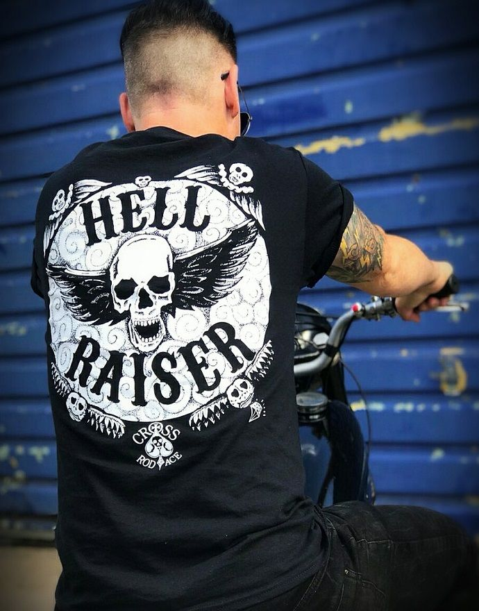 'Hell Raiser' Tee/Tshirt - Black - product images  of