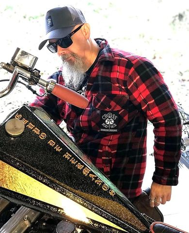 Lumberjack,Padded,Flannel,Jacket,-,Red/Black,Cross, Rod, Ace, www.CrossRodAce.com, CrossRodAce, Quilted, Lumberjack, Flannel, Fur, Warn, Biker, Hotroder, Men, Jacket, Hotrod, hot, rod, cars, bikes, choppers, bobber, hotrodder, kustom, lowrider, low, rider, drag, racing, racer, dragracer
