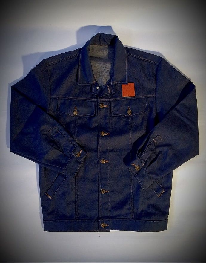 'Vintage Style' Blue Denim Jacket - product images  of