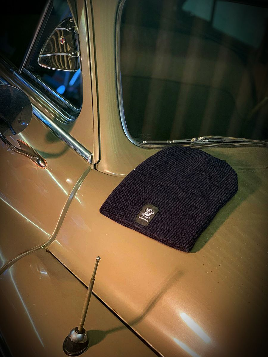 Cool Slouch Navy Beanie Hat - product image