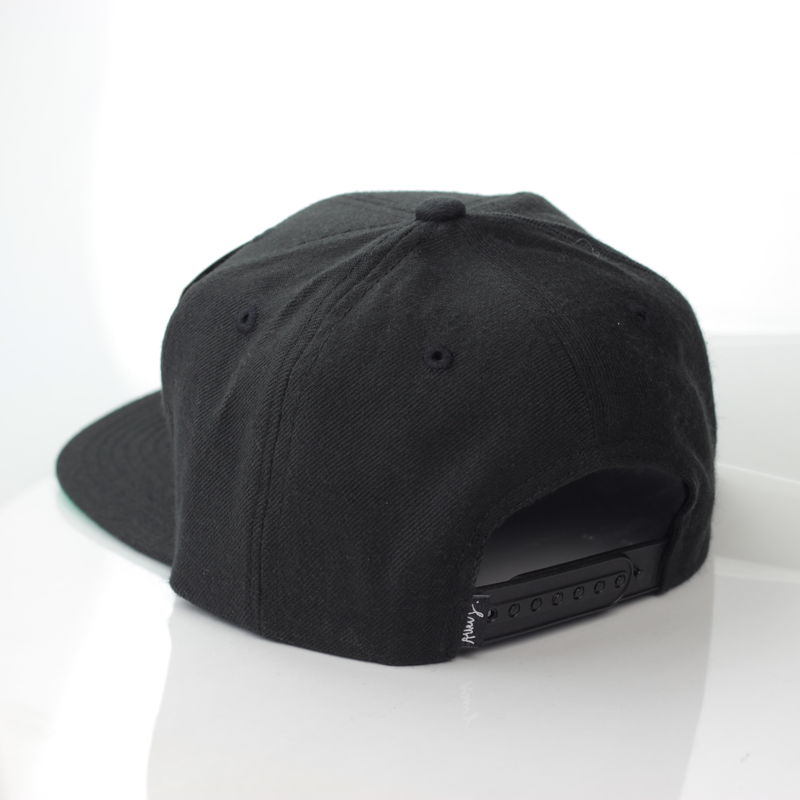 Alley Black Logo Snapback - product images  of