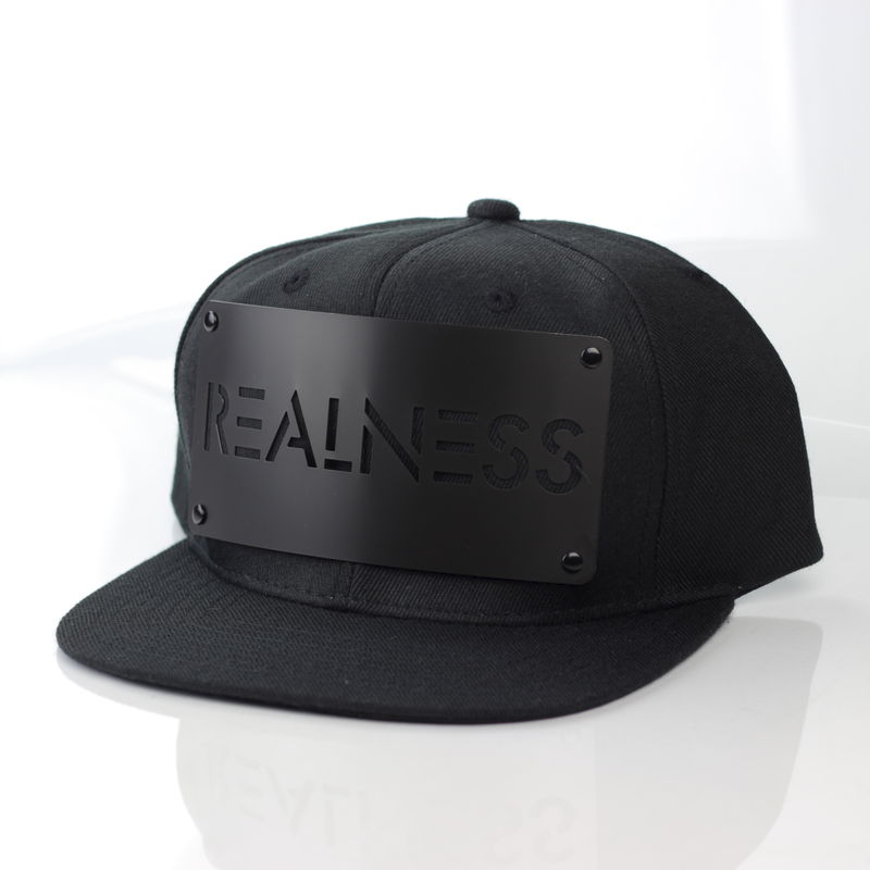 Realness Black on Black Snapback - Archive - product images  of