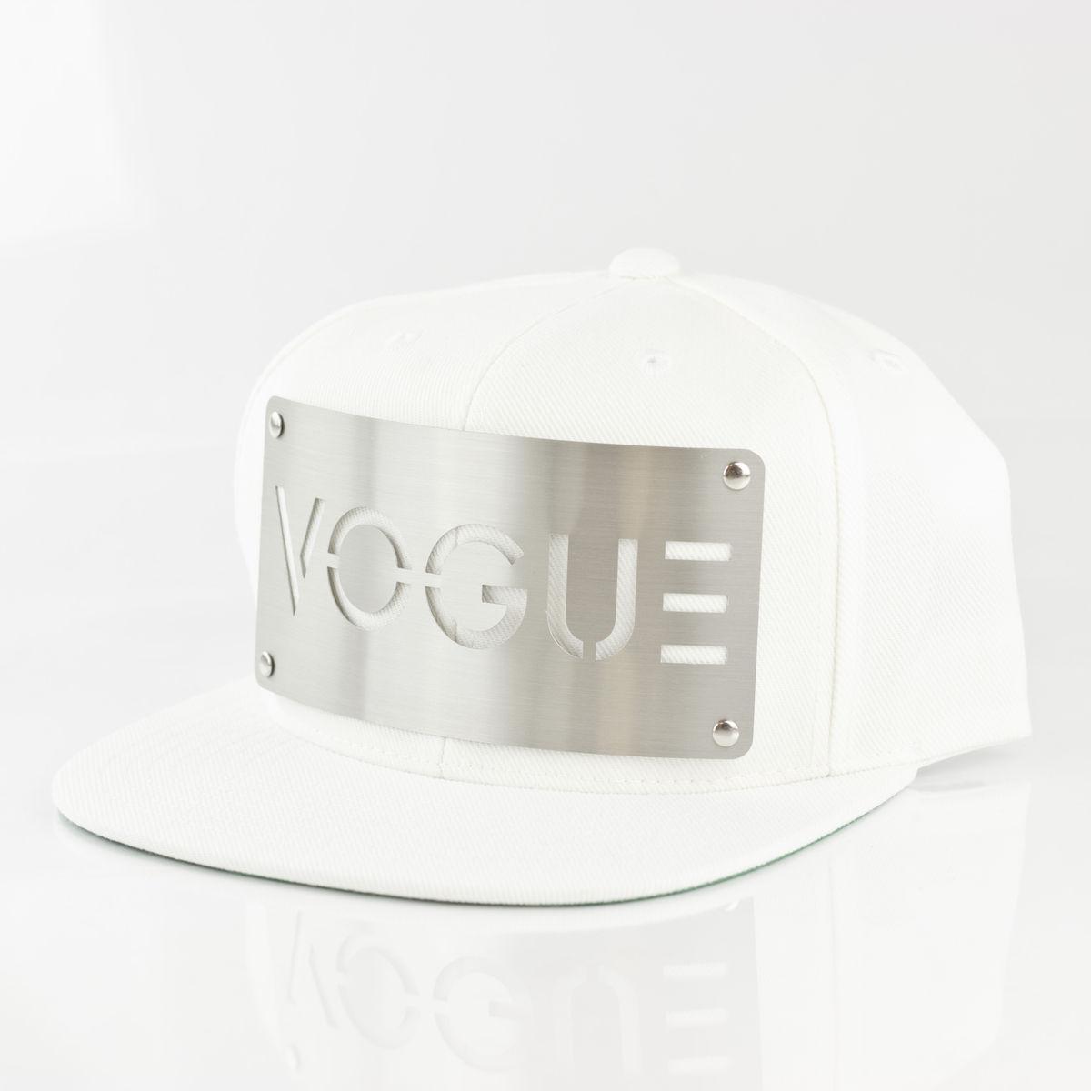 Vogue white snapback karl alley original hardware jpg 1200x1200 Vogue  snapback 095007a3caa7
