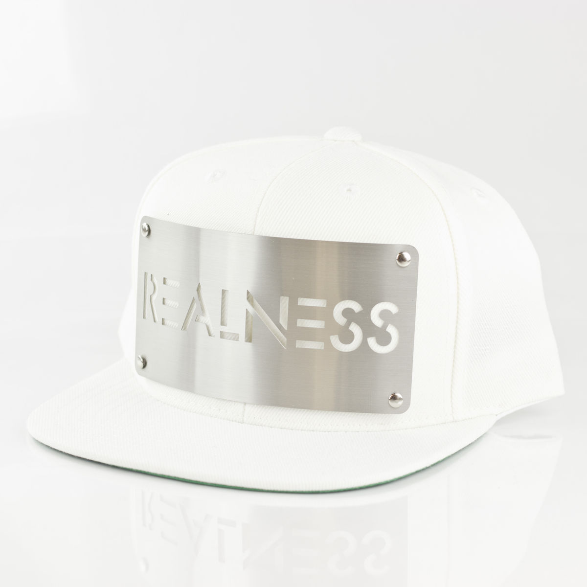 Realness White Snapback - Karl Alley Original Hardware 9ba31f3c997