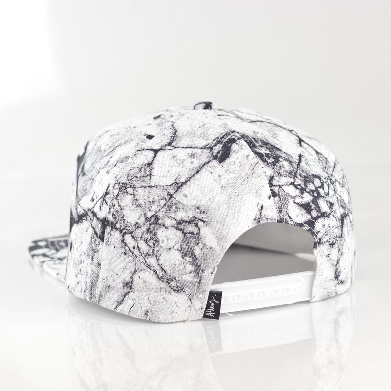Karl Alley x Shaun Bass White Marble Snapback (Archive) - product images  of