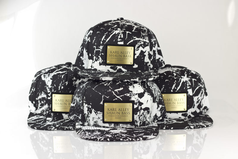 Karl Alley x Shaun Bass Black Marble Snapback (Archive) - product images  of