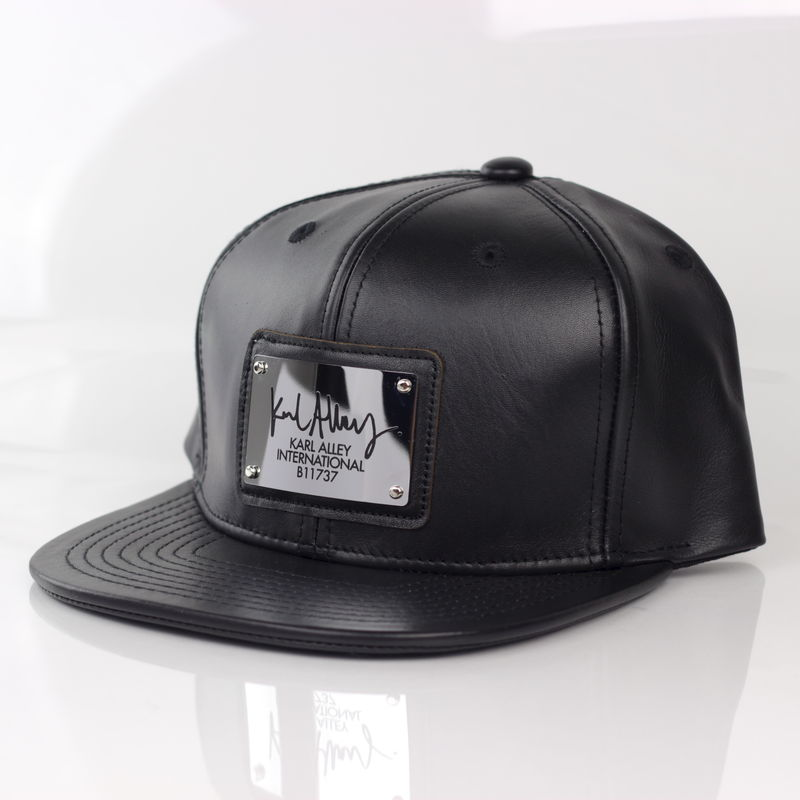 Karl Alley Signature Snapback (Leather - Archive) - product images  of
